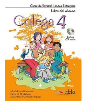 Учебник Colega 4 Libro del alumno + Libro de ejercicios + Audio CD