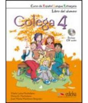 Підручник Colega 4 Libro del alumno + Audio CD