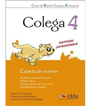 Книга для вчителя Colega 4 Carpeta de Recursos