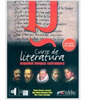 Підручник Curso de Literatura Libro+ CD