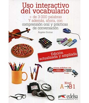 Підручник Uso interactivo del vocabulario A1-B1 Libro