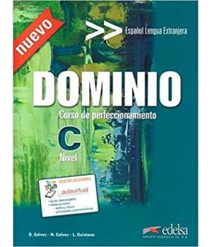 Підручник Dominio: Curso de perfeccionamiento Nuevo Libro del Alumno + CD Audio