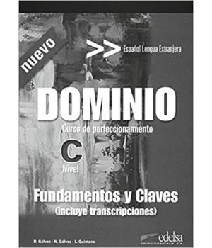 Підручник Dominio: Curso de perfeccionamiento Nuevo Fundamentos y claves