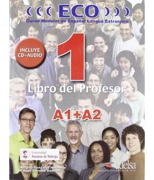 Книга для вчителя ECO extensivo A1+A2 Libro del Profesor + CD