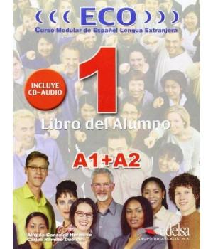 Підручник ECO extensivo A1+A2 Libro del Alumno + CD Audio