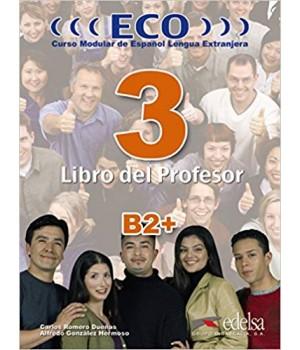 Книга для вчителя ECO extensivo B2+ Libro del Profesor + CD Audio
