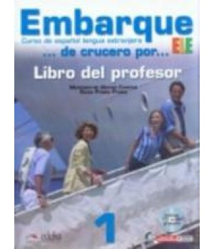 Підручник Embarque 1 Libro del profesor + Audio CD