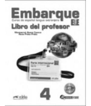 Книга для вчителя Embarque 4 Libro del profesor + Audio CD
