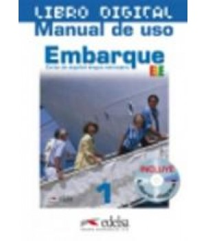 Підручник Embarque 1 Libro digitalizado + manual uso