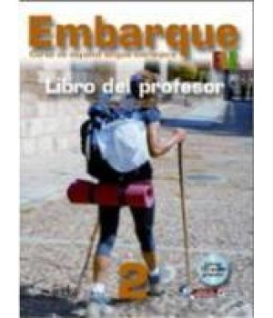 Книга для вчителя Embarque 2 Libro del profesor + Audio CD