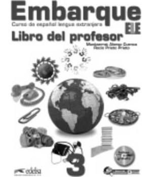 Книга для вчителя Embarque 3 Libro del profesor + Audio CD