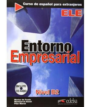 Підручник Entorno empresarial Libro + CD Audio