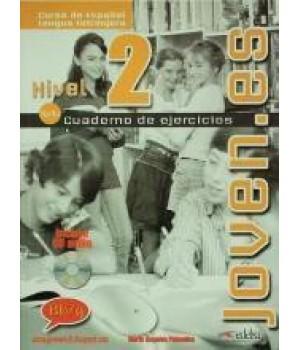 Joven.es 2 (A1/A2) Libro de Ejercicios + CD Audio
