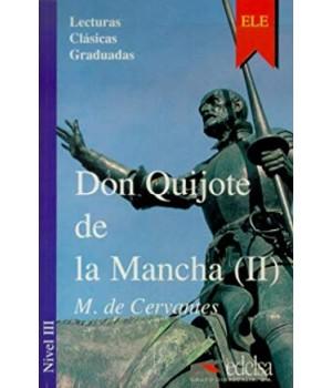 Книга для читання Colección Lecturas Clásicas Graduadas Nivel 3 Don Quijote de la Mancha II