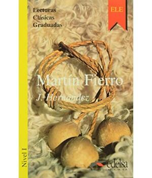 Книга для читання Colección Lecturas Clásicas Graduadas Nivel 1 Martín Fierro