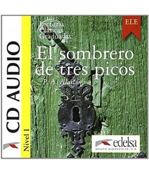 Диск Colección Lecturas Clásicas Graduadas Nivel 1 El sombrero de tres picos CD Audio