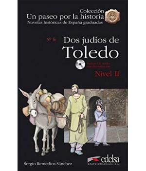 Книга для читання Un paseo por la historia Nivel 2 Dos judios en Toledo + CD Audio