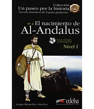 Книга для читання Un paseo por la historia Nivel 1 El nacimiento de Al-Andalus + CD Audio