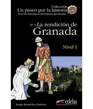 Книга для читання Un paseo por la historia Nivel 1 La rendición de Granada + CD Audio