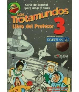 Книга для вчителя Los Trotamundos 3 Libro del profesor