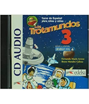 Диски Los Trotamundos 3 Audio CD