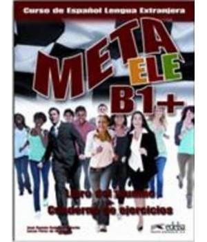Підручник Meta ele B1+ Libro del alumno + Cuaderno de ejercicios + CD audio