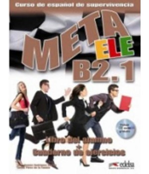 Підручник Meta ele B2.2 Libro del alumno + Cuaderno de ejercicios