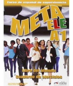 Підручник Meta ele A1 Libro del alumno + Cuaderno de ejercicios + CD audio