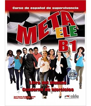 Підручник Meta ele B1 Libro del alumno + Cuaderno de ejercicios + CD audio