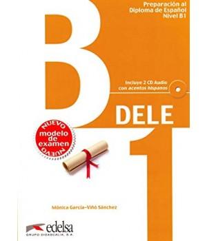 Підручник Preparación DELE B1 Libro + CD 2013 ed.