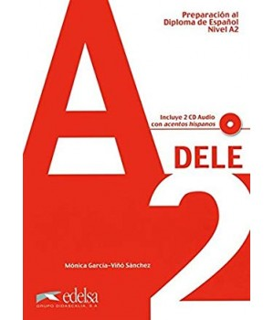 Підручник Preparación DELE A2 Libro + CD 2010 ed.