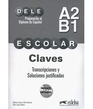 Відповіді Preparación al DELE escolar A2/B1 Claves