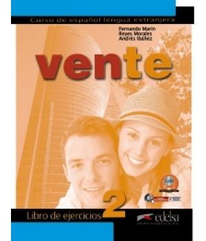 Робочий зошит Vente 2 (B1) Libro de ejercicios