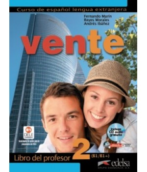 Книга для вчителя Vente 2 (B1) Libro del profesor + CD audio