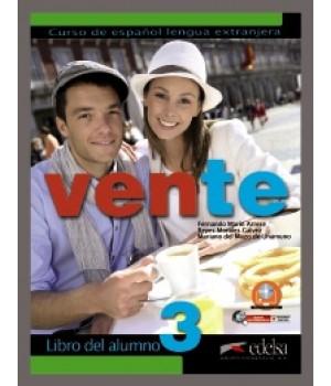 Підручник Vente 3 (B2) Libro del alumno