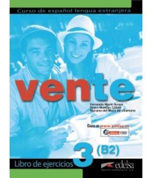 Робочий зошит Vente 3 (B2) Libro de ejercicios