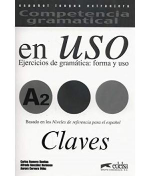Відповіді Competencia gramatical en USO A2 Claves