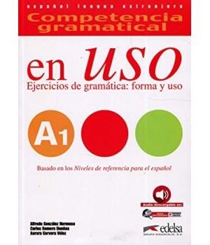 Підручник Competencia gramatical en USO A1 Alumno + Audio descargable