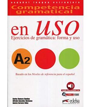 Підручник Competencia gramatical en USO A2 Alumno + Audio descargable