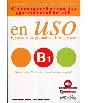 Підручник Competencia gramatical en USO B1 Alumno + Audio descargable
