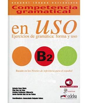Підручник Competencia gramatical en USO B2 Alumno + Audio descargable