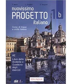 Підручник Progetto Italiano Nuovissimo 1B (A2) Libro&Quaderno + CD Audio + DVD