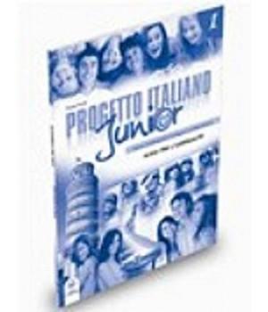 Книга для вчителя Progetto Italiano Junior 1 Guida per l'insegnante