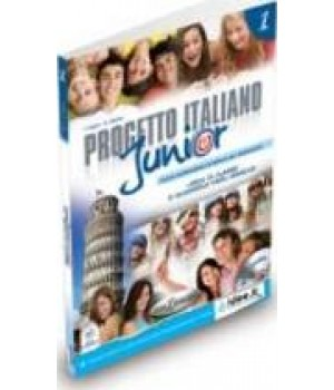 Підручник Progetto Italiano Junior 1 Libro & Quaderno + CD audio