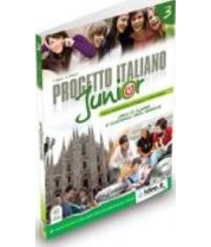 Підручник Progetto Italiano Junior 3 Libro & Quaderno + CD audio