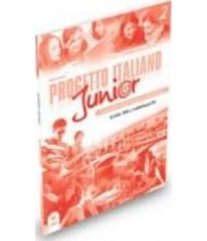 Книга для учителя Progetto Italiano Junior 2 Guida per l'insegnante