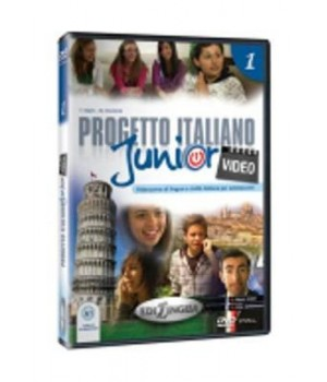 Диск Progetto Italiano Junior 1 Video DVD