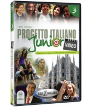 Диск Progetto Italiano Junior 3 Video DVD