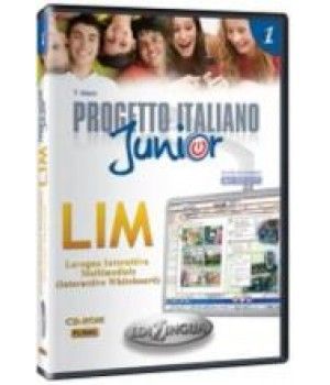 Диски Progetto Italiano Junior 1 LIM (software whiteboard)