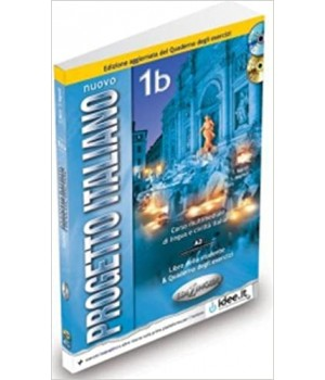 Підручник Progetto Italiano Nuovo 1B (A2) Libro & Quaderno + CD Audio + CD-ROM